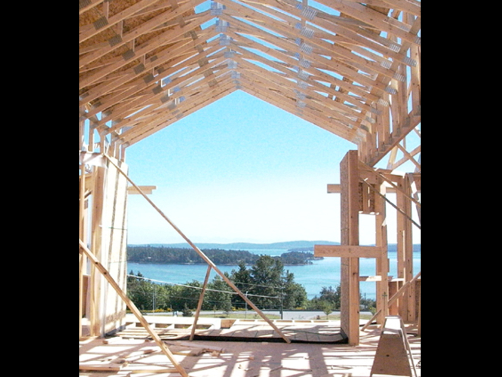 Roof Truss Construction Vancouver Island